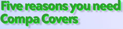 Photo page... five reasons you need Compa Covers.