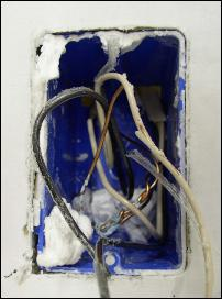 Exposed wires fire hazard. Use Compa Covers next time.